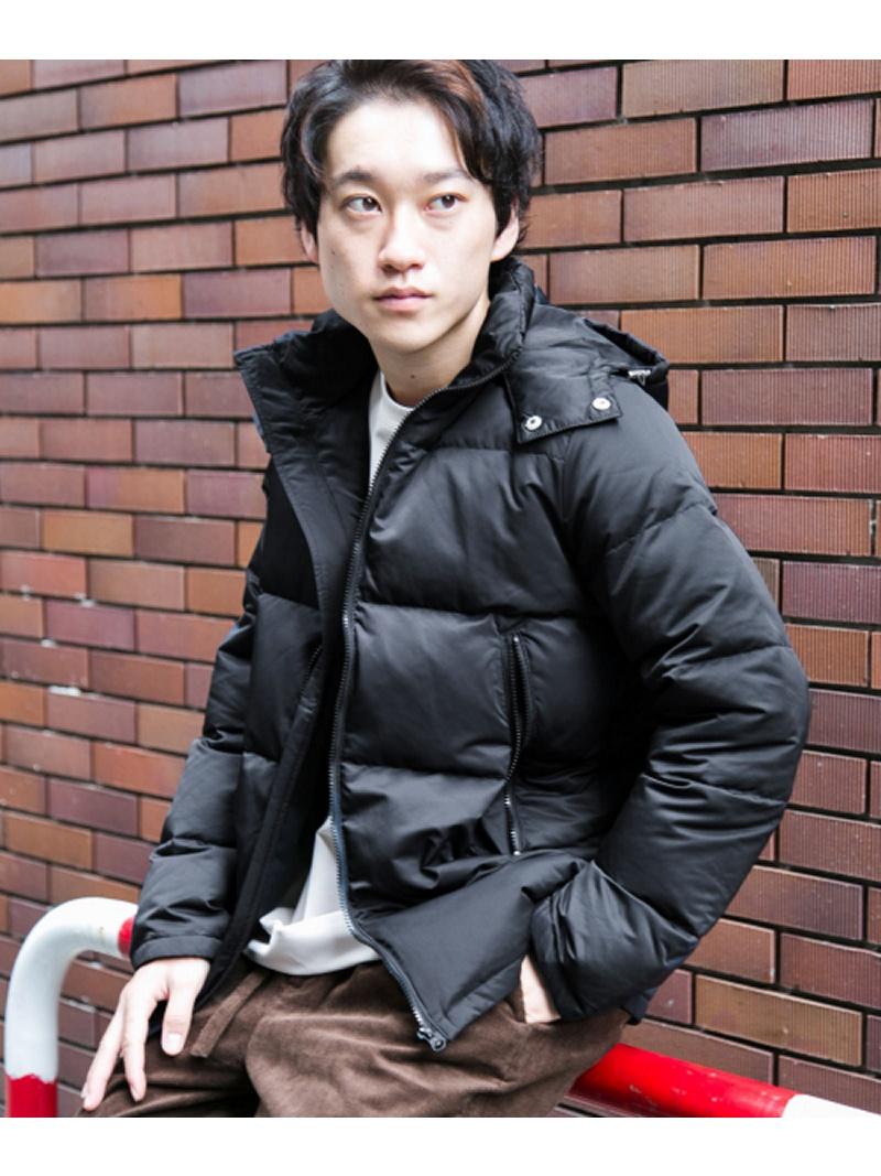 URBAN RESEARCH ITEMS フードダウンジャケット アーバンリサーチアイテムズ コート/ジャケット【送料無料】