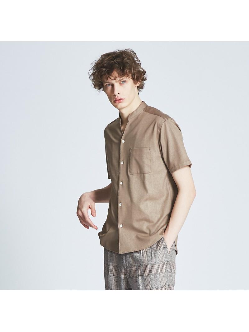 ABAHOUSE LASTWORD エンボスポンチVネックシャツ アバハウス シャツ/ブラウス【送料無料】