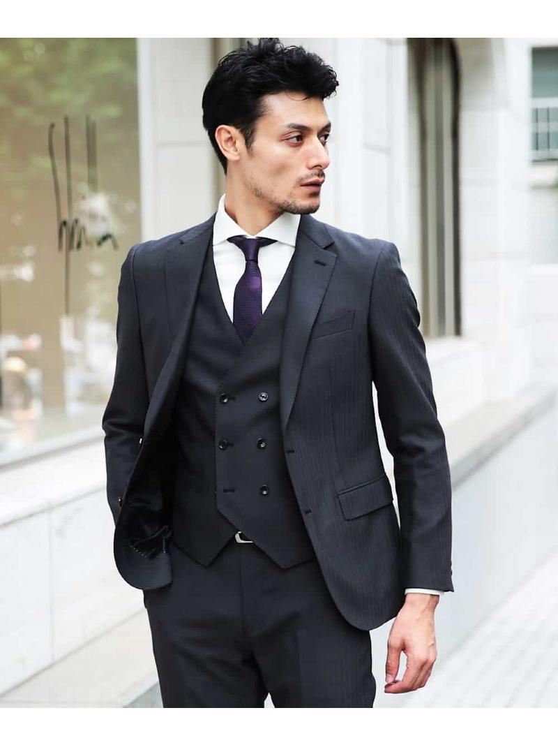 【SALE/50%OFF】MICHEL KLEIN HOMME スーツ(SHINY STRETCH) ミッシェルクランオム コート/ジャケット【RBA_S】【RBA_E】【送料無料】