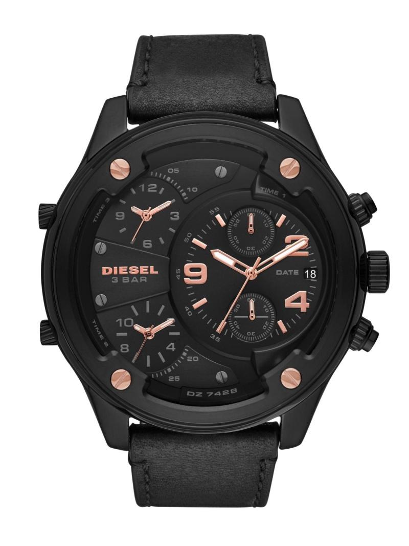DIESEL DIESEL/(M)BOLTDOWN_DZ7428 ウォッチステーションインターナショナル ファッショングッズ 腕時計 ブラック【送料無料】