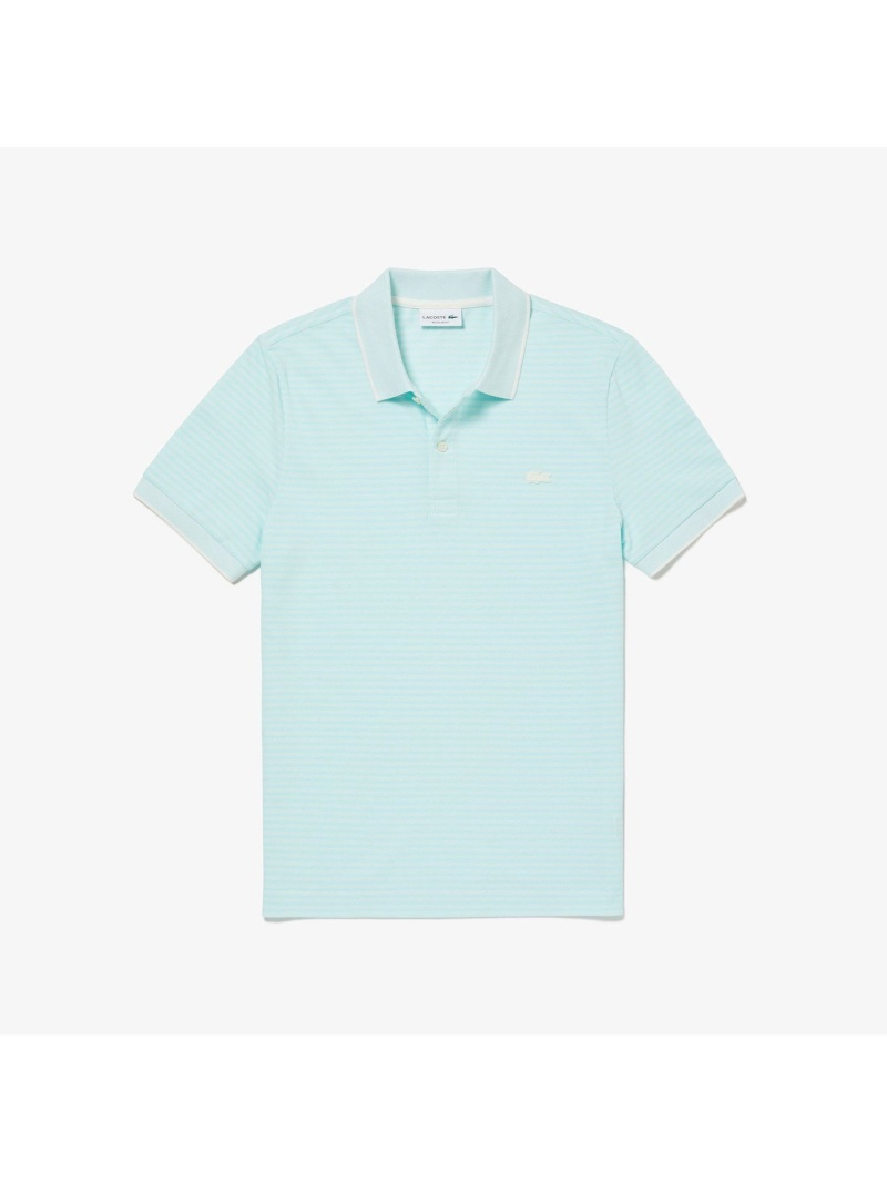 【SALE/30%OFF】LACOSTE ボーダーデザインポロシャツ(半袖) ラコステ カットソー ポロシャツ【RBA_E】【送料無料】