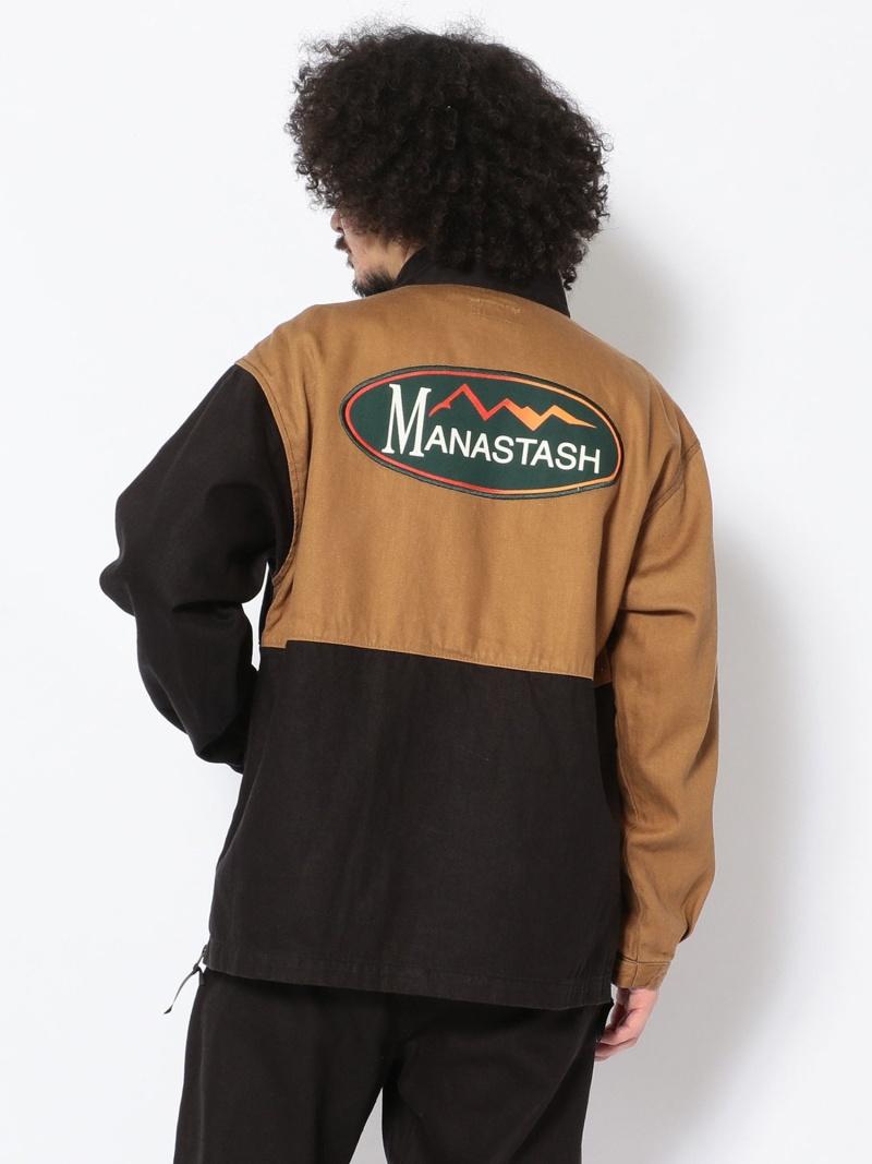 BEAVER MANASTASH/マナスタッシュ MENBAERS JACKET メンバーズジャケット ビーバー コート/ジャケット ブルゾン ホワイト ブラック ベージュ【送料無料】