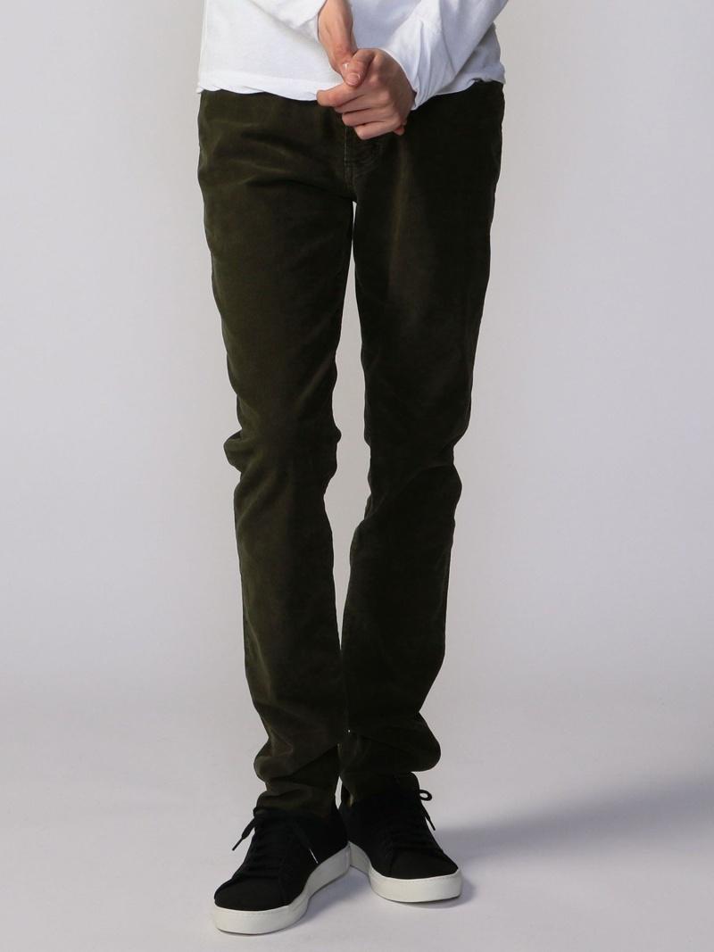 JAMES PERSE MEN ストレッチコーデュロイ 5ポケットパンツ MRX1260 トゥモローランド パンツ/ジーンズ フルレングス【送料無料】