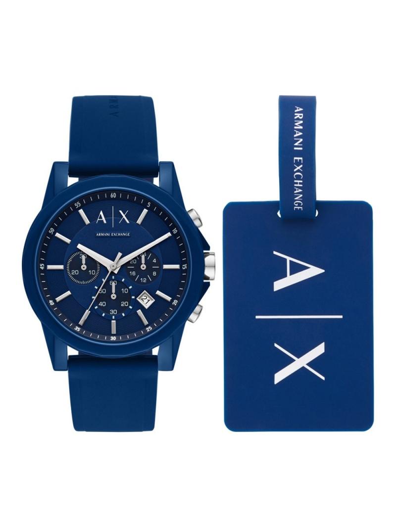 A|X ARMANI EXCHANGE A|X ARMANI EXCHANGE/(M)OUTER BANKS_AX710 ウォッチステーションインターナショナル ファッショングッズ【送料無料】