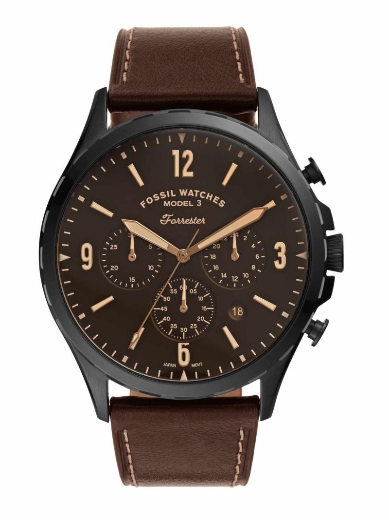 FOSSIL FOSSIL/(M)Forrester Chrono_FS5608 フォッシル ファッショングッズ 腕時計 ブラック【送料無料】