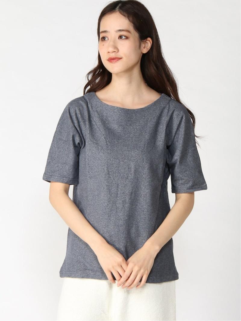 M+home M+home/M+エリー ビートゥーエル カットソー Tシャツ グレー【送料無料】
