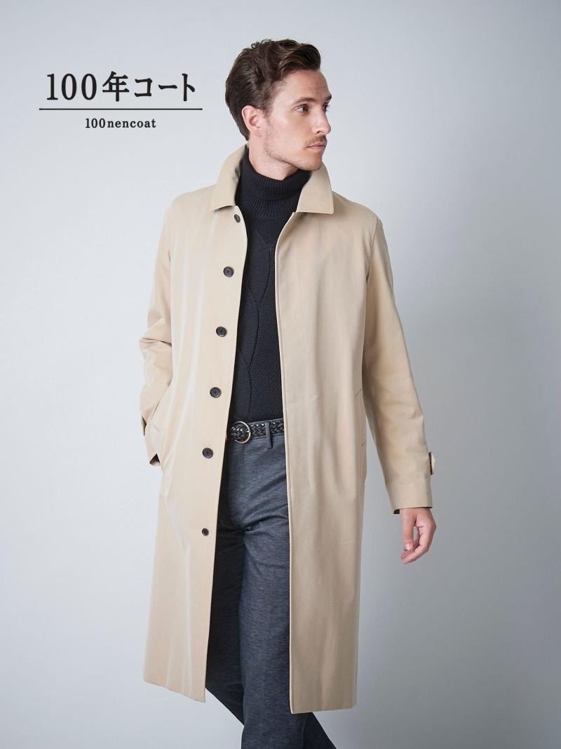 SANYO <100年コート>バルマカーンロングコート(三陽格子) サンヨー コート/ジャケット【送料無料】