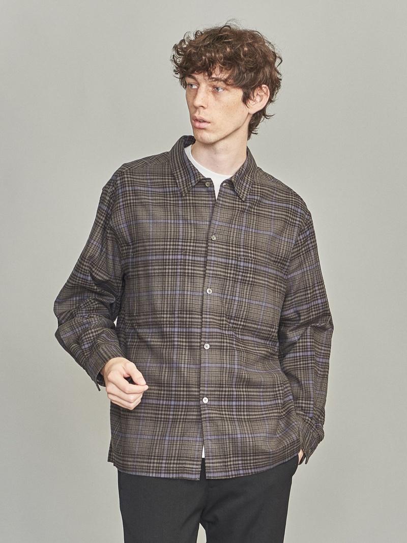 BEAUTY ARROWS & UNITED YOUTH BEAUTY UNITED ARROWS BYソフトネルチェックオープンカラーシャツ ビューティ&ユース ユナイテッドアローズ シャツ/ブラウス【送料無料】, Blooming [ブルーミン]:027a5f8b --- officewill.xsrv.jp
