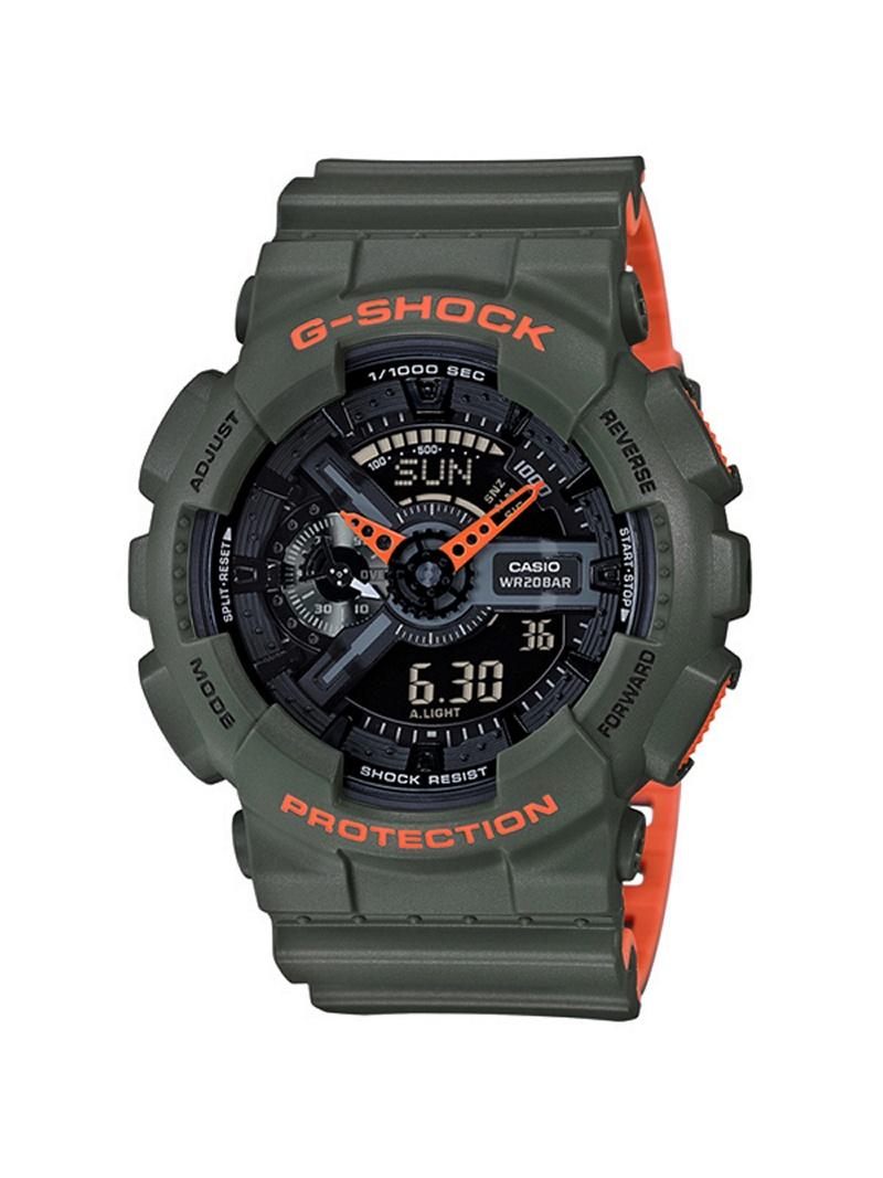 G-SHOCK/BABY-G/PRO TREK G-SHOCK/(M)GA-110LN-3AJF/Layered Neon カシオ ファッショングッズ【送料無料】