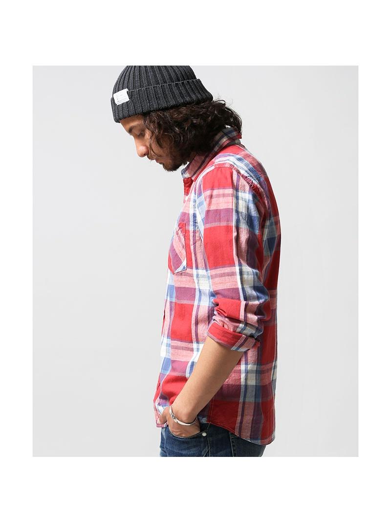 纳米宇宙裤子棉亚麻复选 SH 纳米宇宙衬衫 / 衬衫