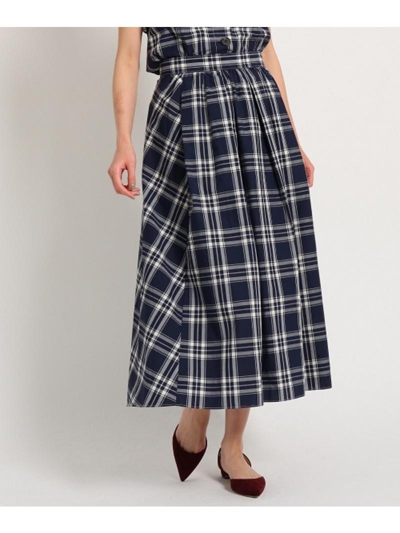 DRESSTERIOR 【洗える】タイプライターチェックスカート ドレステリア スカート【送料無料】