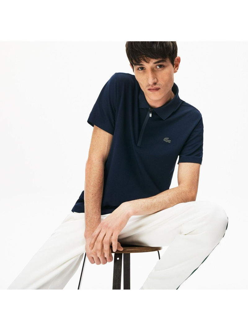 【SALE/30%OFF】LACOSTE ライトウエイトコットンポロシャツ(半袖) ラコステ カットソー ポロシャツ【RBA_E】【送料無料】