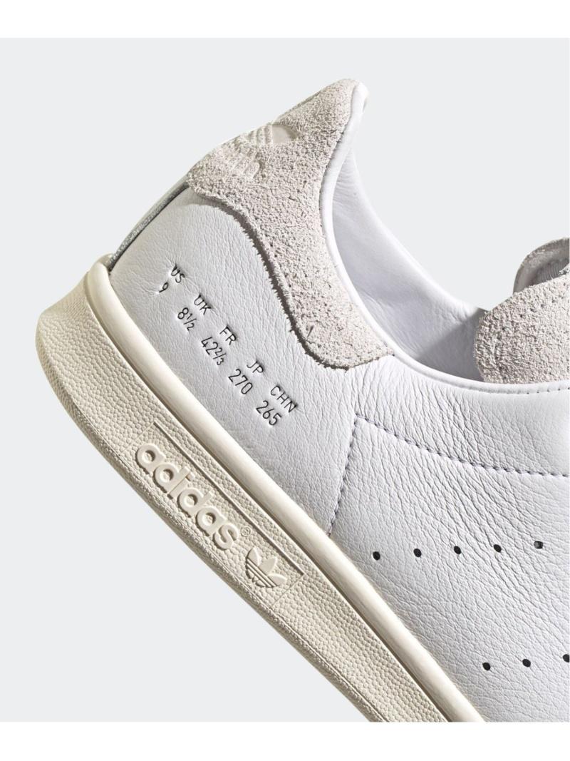 シューズ STAN ホワイト【送料無料】 SMITH スニーカー/スリッポン adidas adidas エディフィス