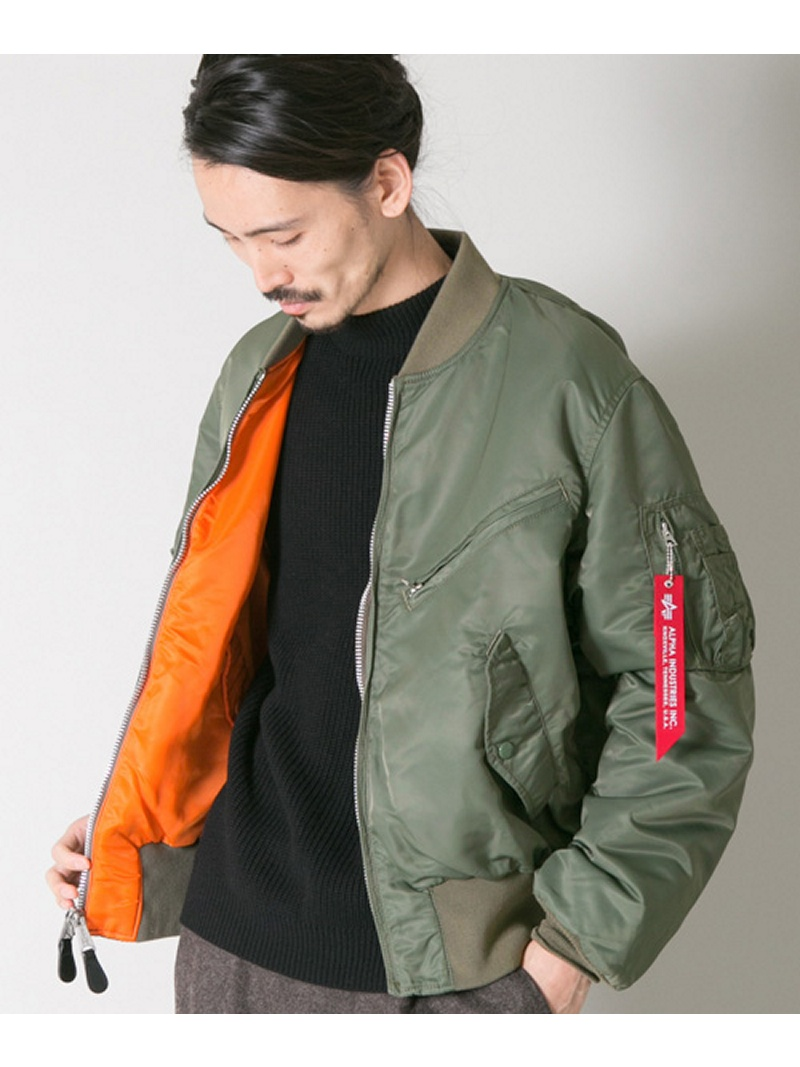 【SALE/40%OFF】URBAN RESEARCH ALPHA INDUSTRIES×NEXUSVII.×UR 別注TESTPILOT JACKET アーバンリサーチ コート/ジャケット【RBA_S】【RBA_E】【送料無料】