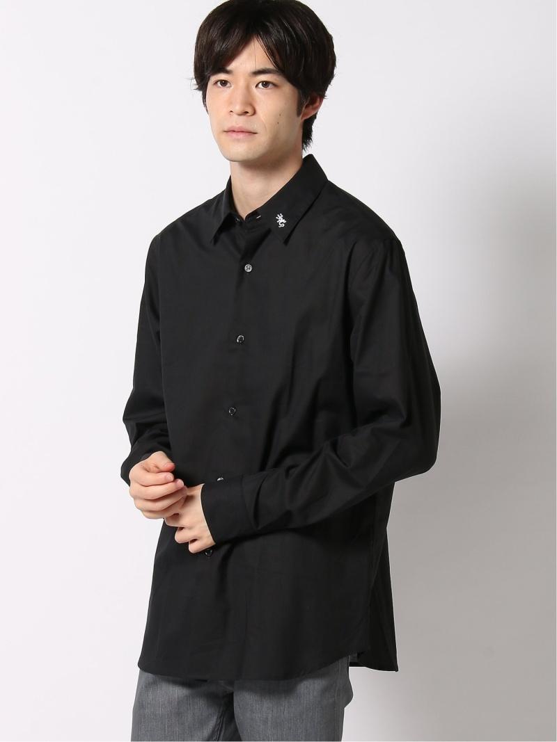 agnes b. HOMME HOMME/(M)UF95 CHEMISE シャツ アニエスベー シャツ/ブラウス 長袖シャツ ブラック ホワイト【送料無料】