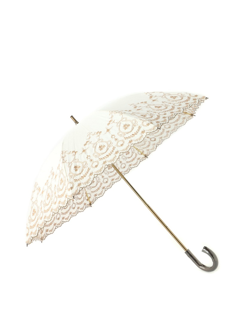 Sorcie Renom 晴雨兼用傘 スライドショート傘 ソシエ・レノ ファッショングッズ 長傘 ホワイト ブルー ブラック【送料無料】