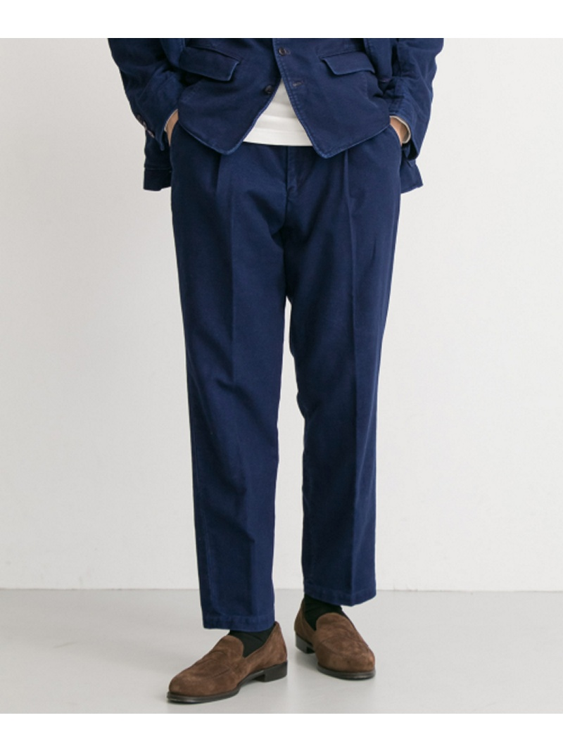 【SALE/30%OFF】URBAN RESEARCH FSC JP INDIGO MOLESKIN ONE TUCK PANTS アーバンリサーチ パンツ/ジーンズ【RBA_S】【RBA_E】【送料無料】