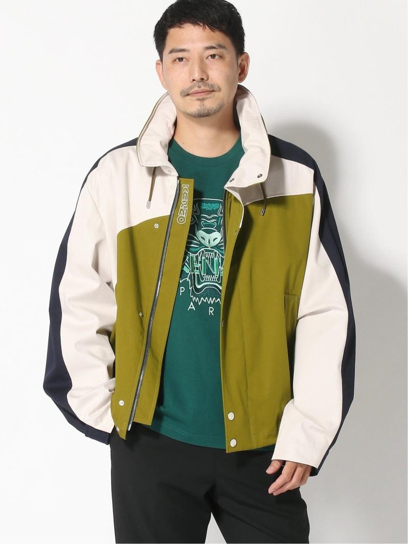 【SALE/50%OFF】KENZO (M)Coated Cotton Colorblock Jacket ケンゾー コート/ジャケット コート/ジャケットその他【RBA_E】【送料無料】