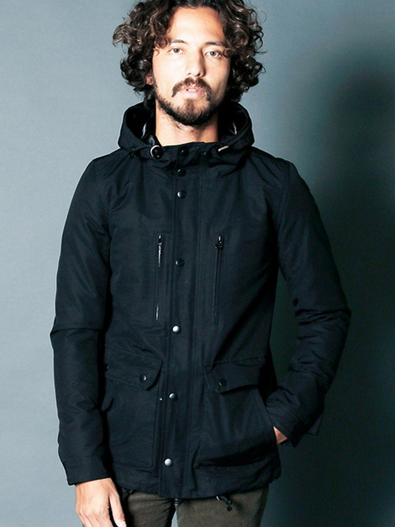 【SALE/30%OFF】CTN/NY GROSSGRAIN 3WAY MOUNTAIN PARKA マージン カットソー【RBA_S】【RBA_E】【送料無料】