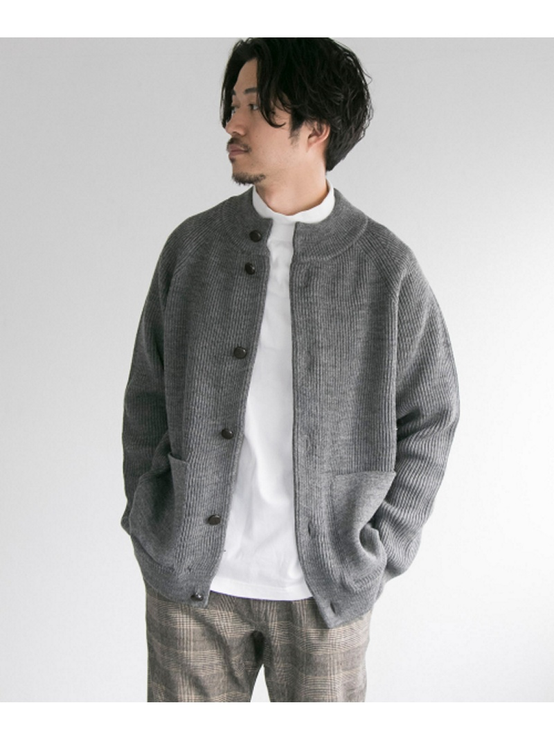 【SALE/30%OFF】URBAN RESEARCH Vincent et Mireille MOCK NECK CARDIGAN アーバンリサーチ ニット【RBA_S】【RBA_E】【送料無料】