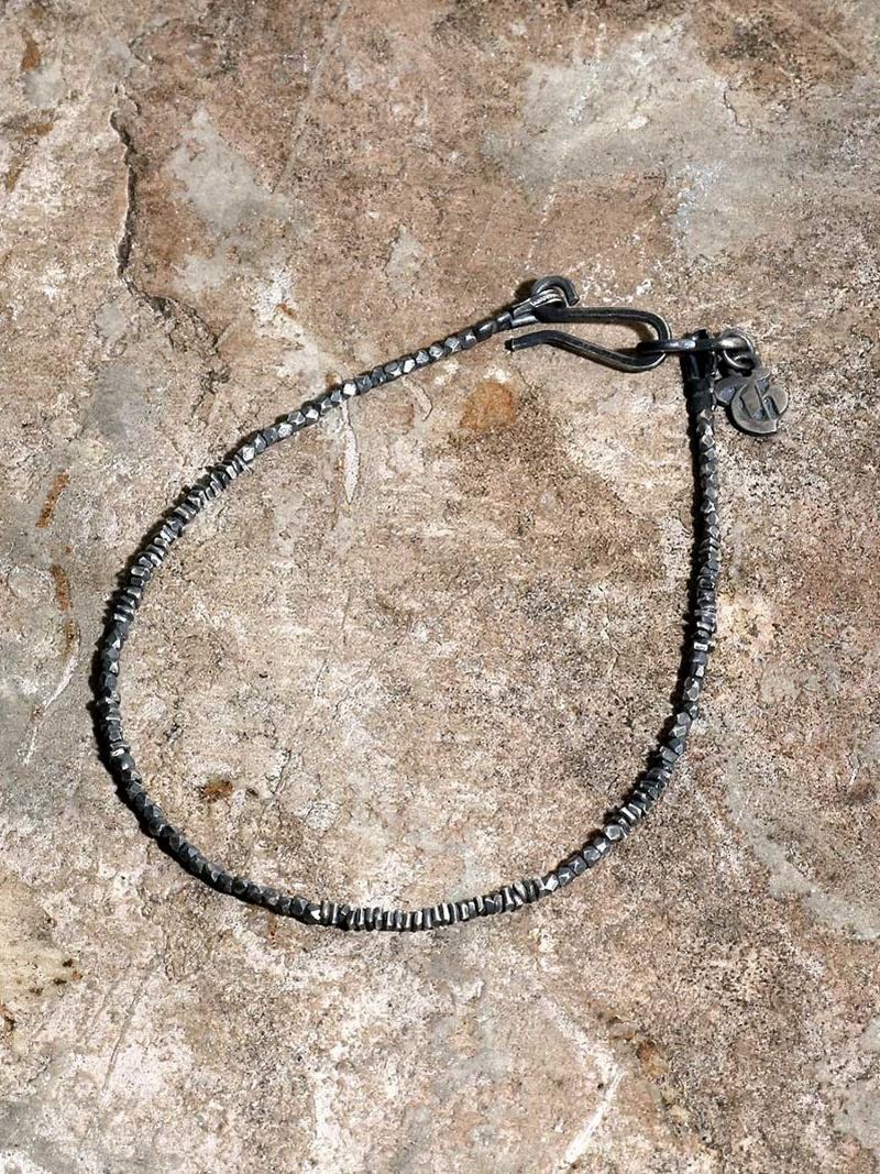 GILD Micro silver beads bracelet マージン アクセサリー【先行予約】*【送料無料】