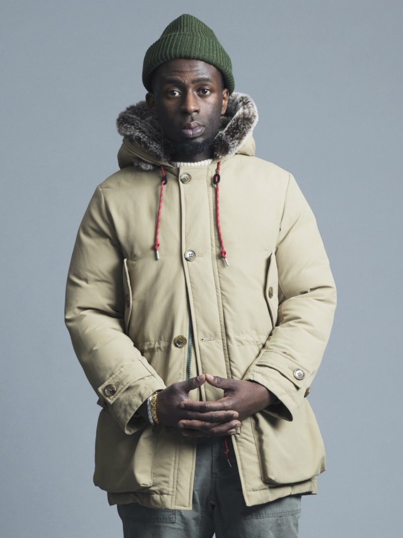 【SALE/40%OFF】BAL *HOODED FUR DOWN FILLED PARKA バル コート/ジャケット ロングコート ベージュ ブラック【RBA_E】【先行予約】*【】: Fashion Men