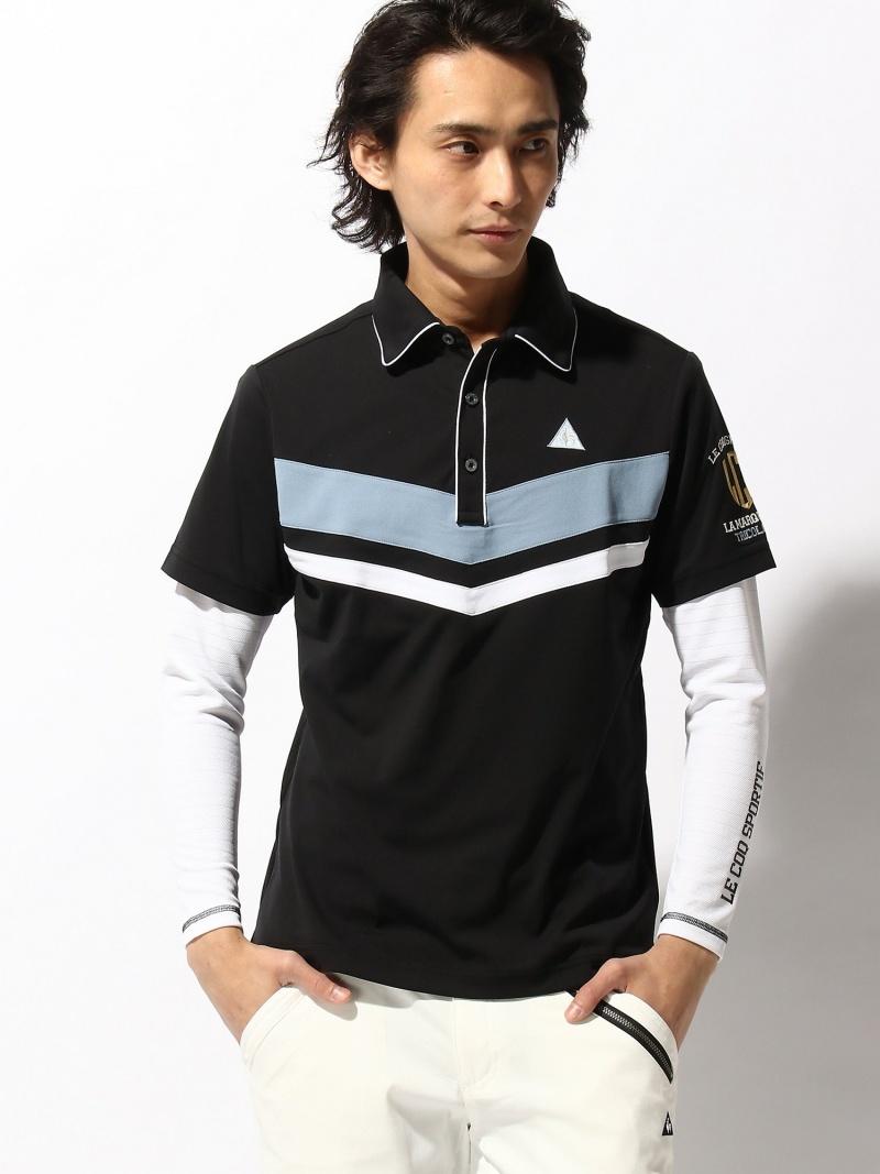 le coq GOLF (M)Vラインポロシャツ&Vネックインナーシャツ ルコックゴルフ スポーツ/水着【送料無料】