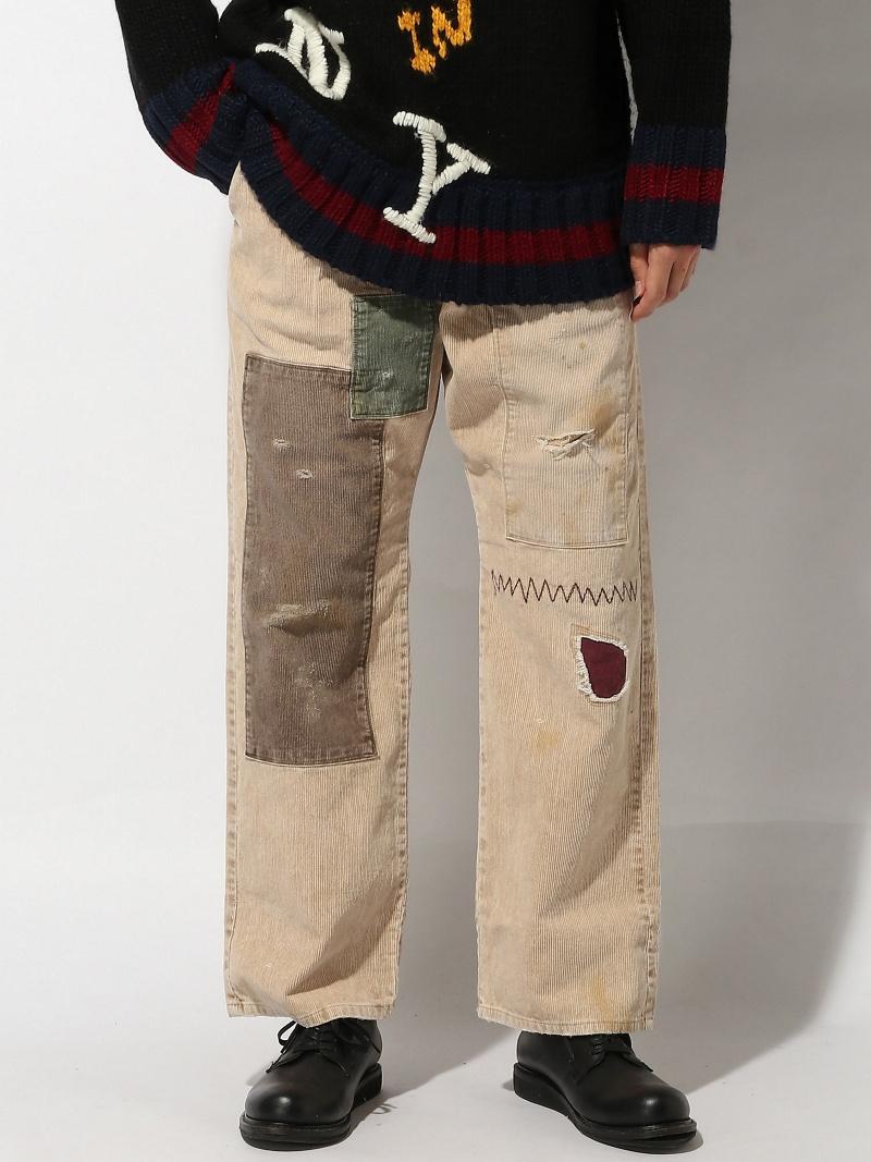 glamb メンズ パンツ/ジーンズ グラム  glamb ACE corduroy pants グラム パンツ/ジーンズ フルレングス ベージュ ブラック【送料無料】
