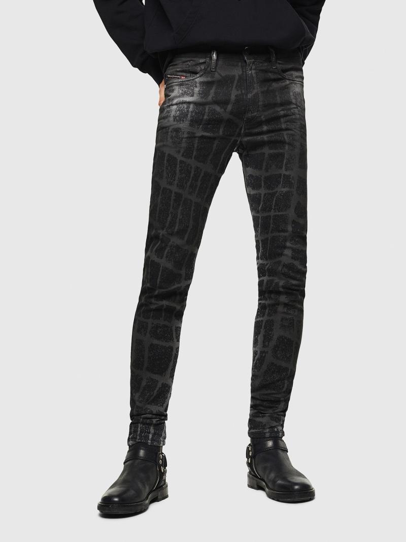 DIESEL D-ReeftJoggJeans0094M ディーゼル パンツ/ジーンズ フルレングス ブラック【送料無料】
