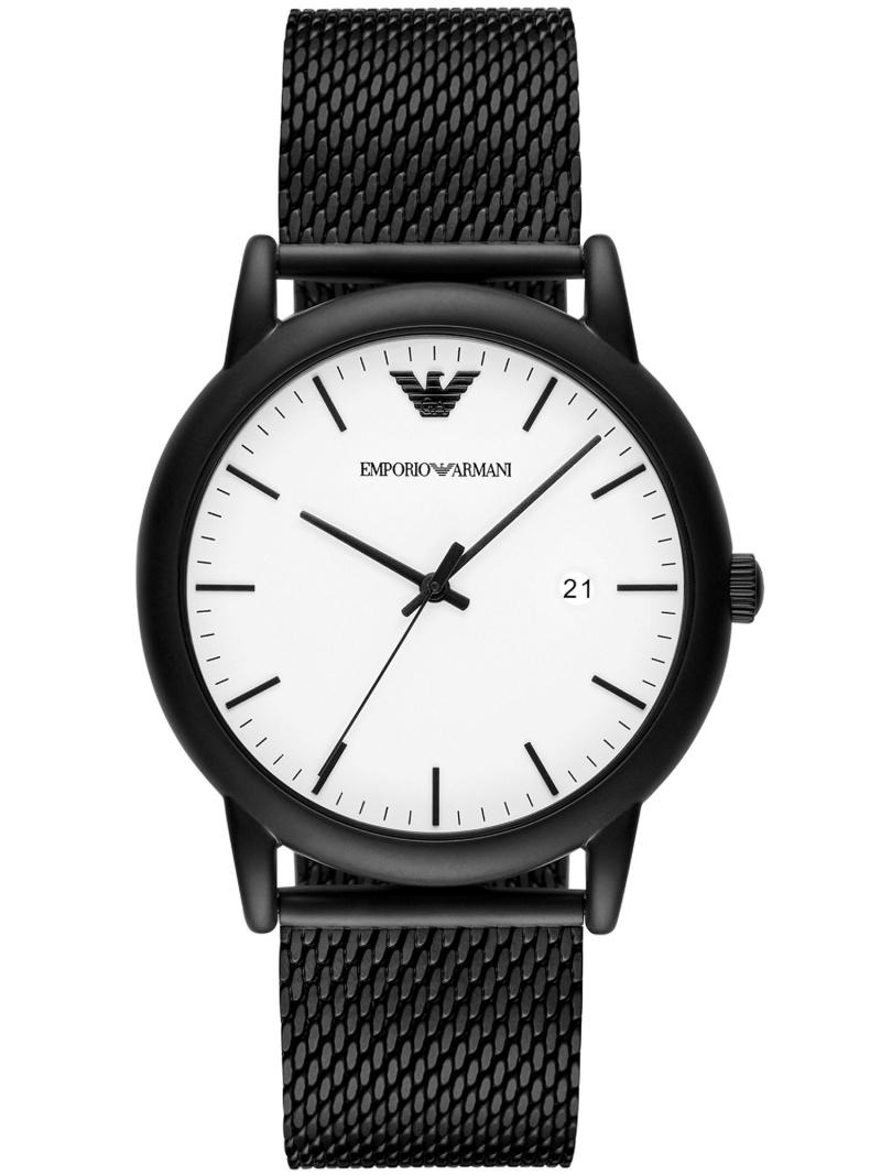 【SALE/50%OFF】EMPORIO ARMANI EMPORIO LUIGI AR11046 ウォッチステーションインターナショナル ファッショングッズ 腕時計 ホワイト【RBA_E】【送料無料】