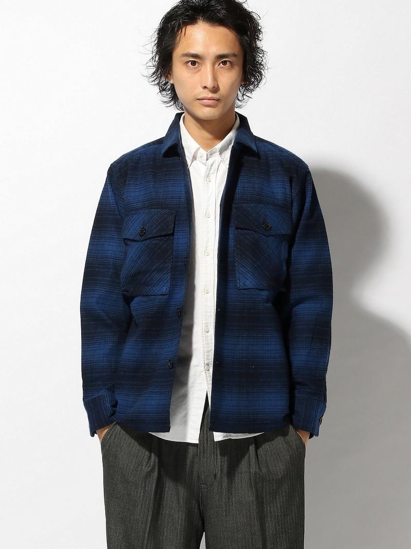 Johnbull/(M)ヘビーフランネルシャツジャケット ジョンブルプライベートラボ コート/ジャケット【送料無料】