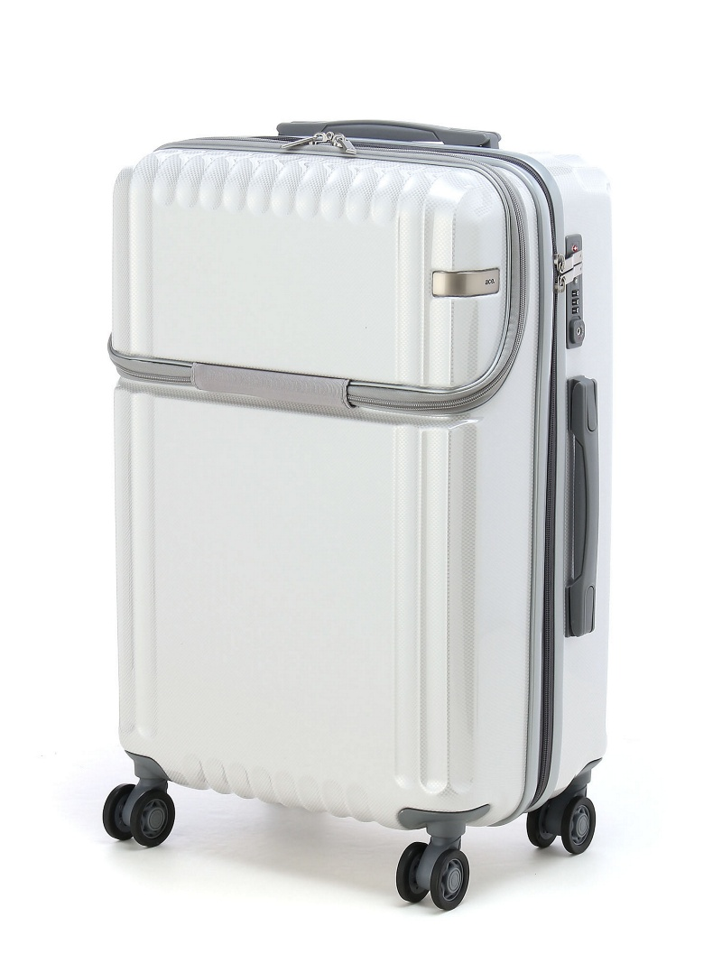 ace ace/パリセイドZ スーツケース フロントポケット付き 52リットル 4ー5泊程度のご旅行向き 05586 エースバッグズアンドラゲッジ バッグ【送料無料】