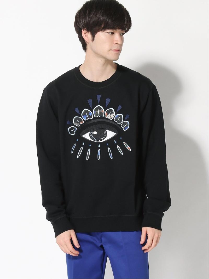 KENZO (M)Seasonal Eye Sweatshirt ケンゾー カットソー スウェット ブラック【送料無料】