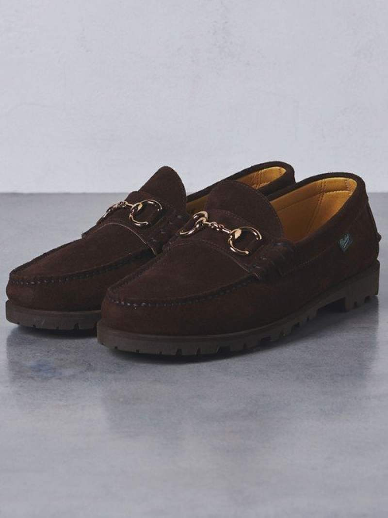 UNITED ARROWS 【別注】<Paraboot(パラブーツ)> UASP BIT SUEDE LOAFER† ユナイテッドアローズ シューズ【送料無料】