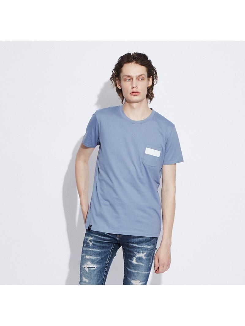 5351POUR LES HOMMES 【ワンラインポケット】クルーネックTシャツ ゴーサンゴーイチプールオム カットソー Tシャツ ブルー ホワイト ブラック【送料無料】