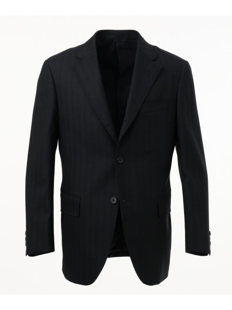 J.PRESS MEN ヘリンボンストライプ スーツ ジェイプレス ビジネス/フォーマル【送料無料】