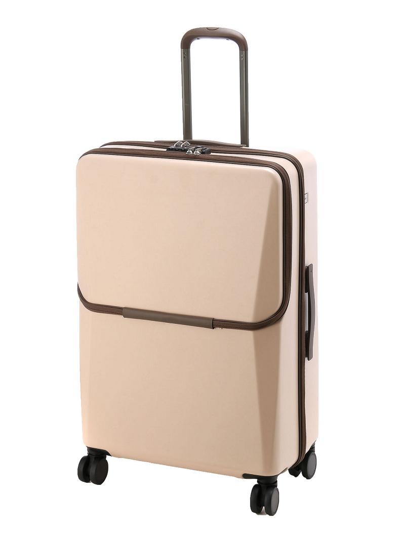 ace ace/ BC リンクワン 女性が使いやすいビジネス用スーツケース 90リットル フロントポケット/荷物を取り付けられるVバインディングシステム 06263 エ【送料無料】