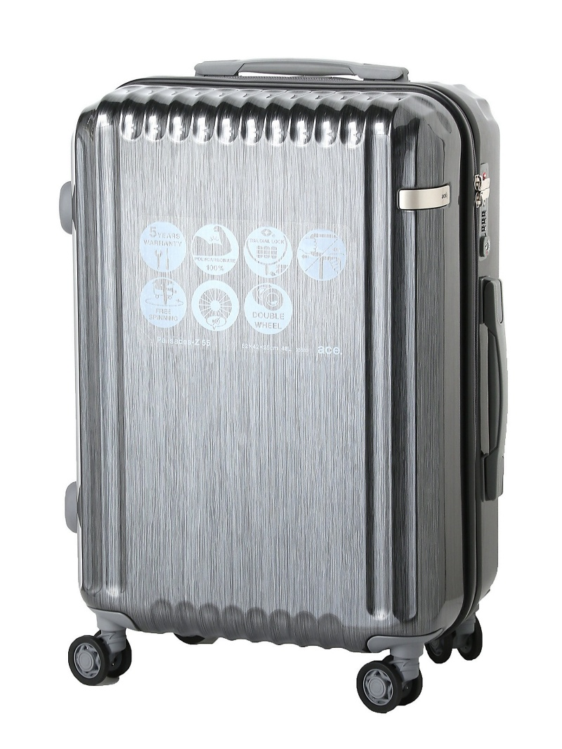 ace ace/パリセイドZ 48リットル☆3ー4泊程度のご旅行向きスーツケース 05583 エースバッグズアンドラゲッジ バッグ【送料無料】