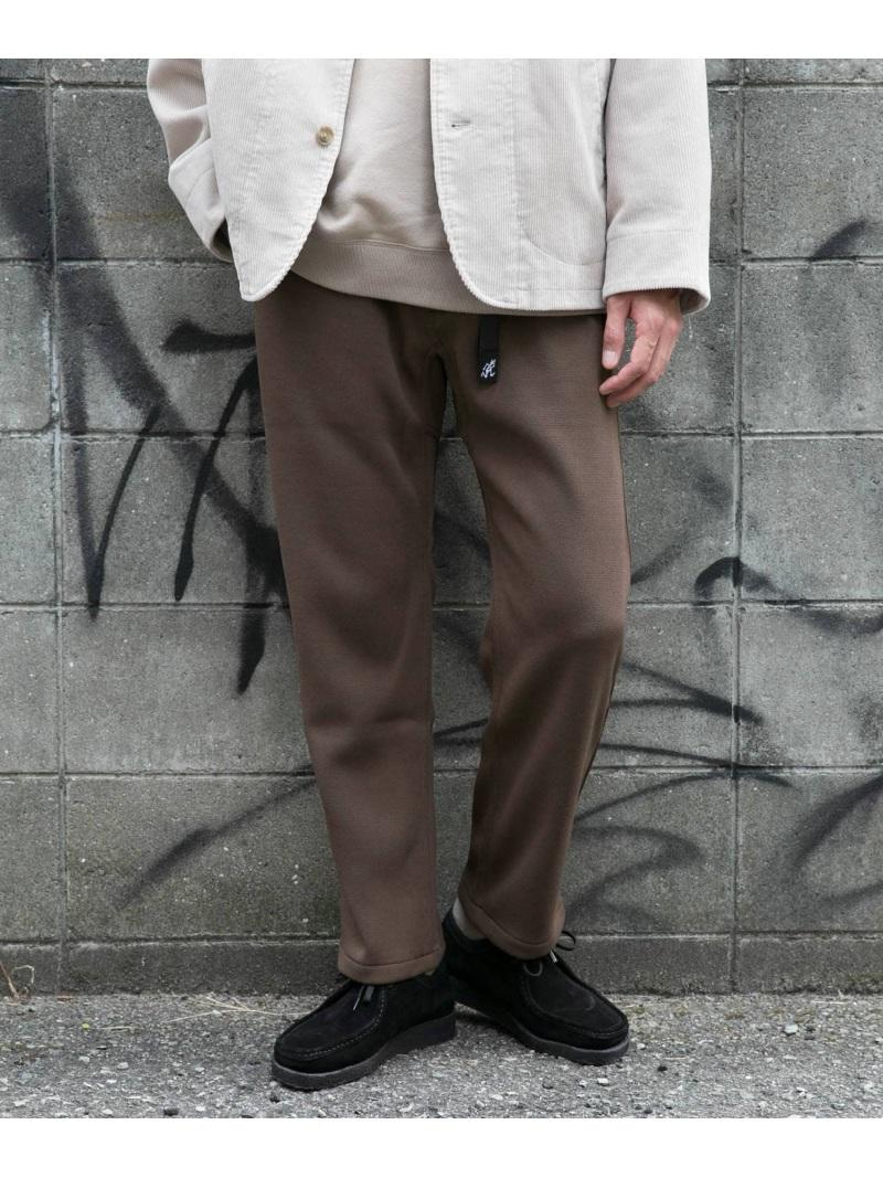 DOORS 【予約】【別注】GRAMICCI×DOORS ニットフリースパンツ アーバンリサーチドアーズ パンツ/ジーンズ パンツその他 ブラウン グレー ブラック【先行予約】*【送料無料】