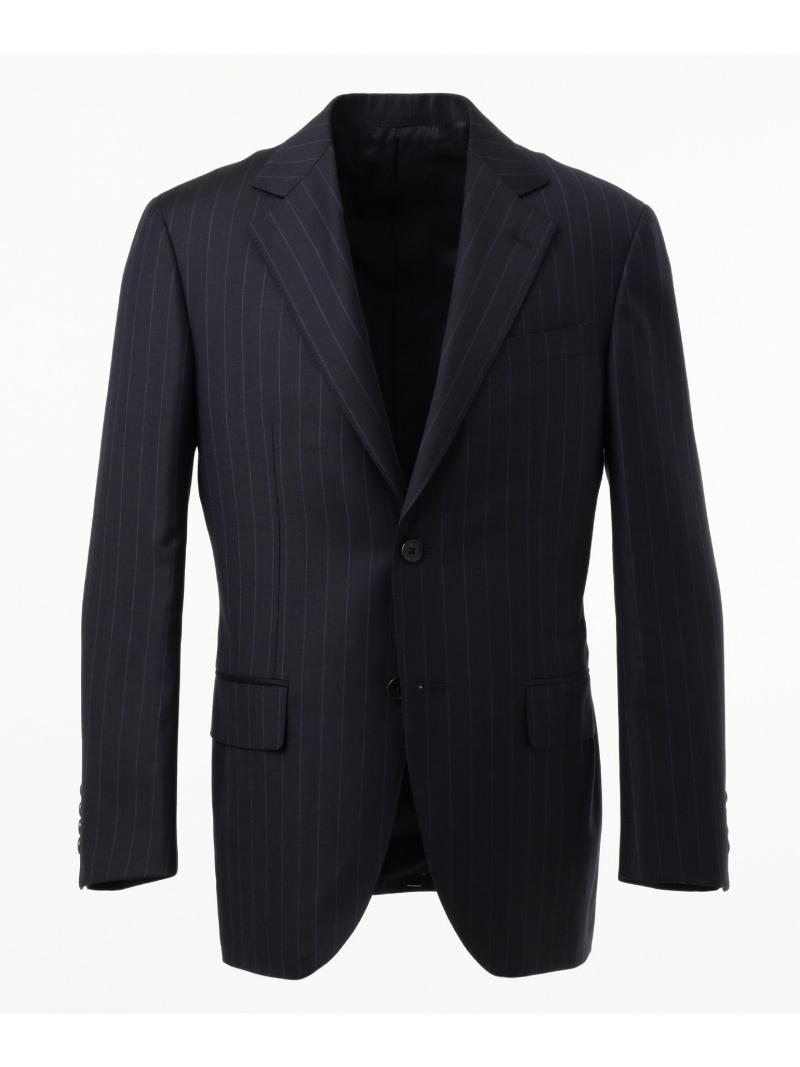 J.PRESS MEN カラードチョークストライプ スーツ ジェイプレス ビジネス/フォーマル【送料無料】