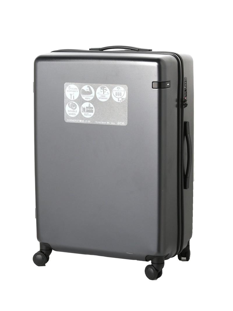 ace. ace. /エース コーナーストーンZ スーツケース 98リットル 10泊程 エースバッグズアンドラゲッジ バッグ【送料無料】
