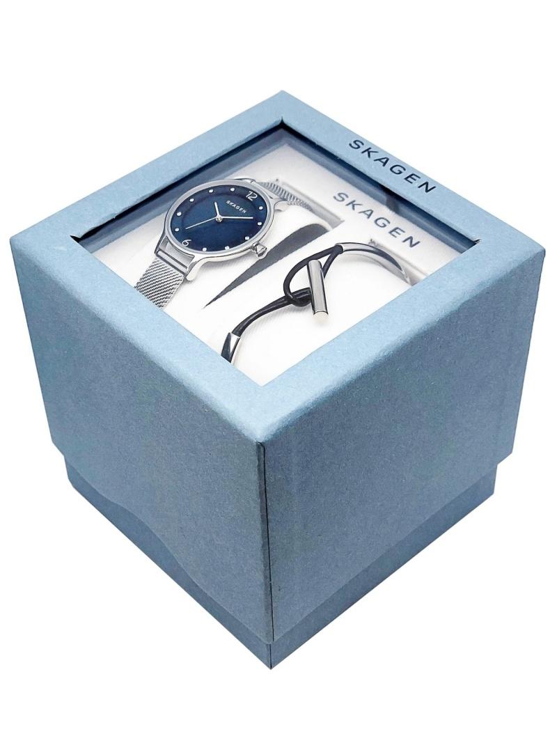 (W)ANITA Watch & ANETTE Bangle SET_SKW11 スカーゲン ファッショングッズ【送料無料】