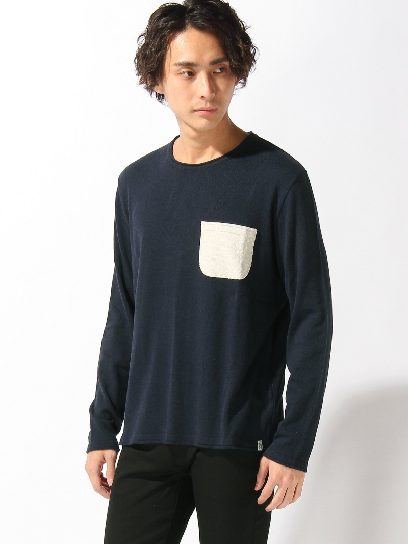 SWEATERHOUSE SWEATERHOUSE/(M)LS-ポケットセーター ヌーディージーンズ / フランクリンアンドマーシャル ニット【送料無料】
