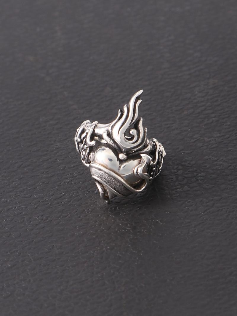 ROYAL ORDER (U)Flaming Heart Ring ロイヤルオーダー アクセサリー【送料無料】