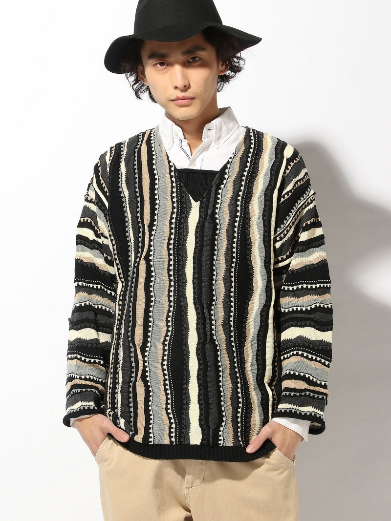 【SALE/20%OFF knit】Abbas stripe stripe knit グラム ニット グラム【RBA_S】【RBA_E】【送料無料】, カネヨン水産:6f1b6c87 --- officewill.xsrv.jp
