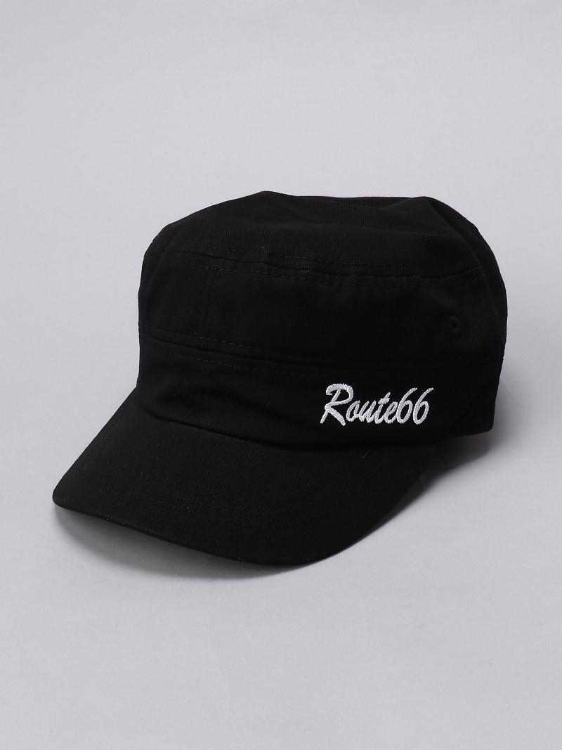 190208newitem Helissio ユニセックス 帽子 ヘア小物 エリシオ ROUTE66 U ネイビー RT66-17912 お得クーポン発行中 セール特別価格 ブラック ワークキャップ 帽子その他
