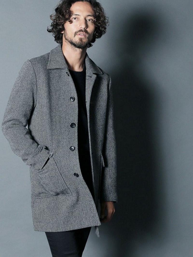 Magine ENGLAND WOOL TWEED SINGLE COAT マージン コート/ジャケット【先行予約】*【送料無料】