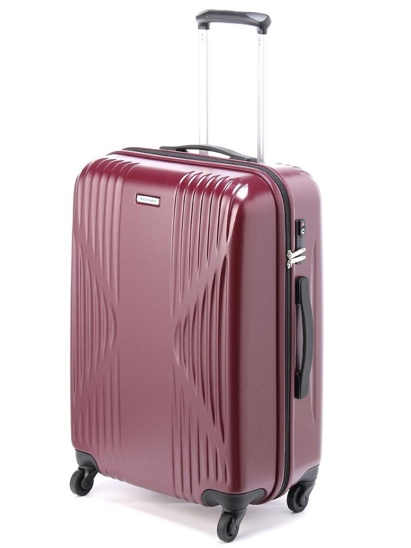 World Traveler ワールドトラベラー/クリアウォーター スーツケース ジッパータイプ 5ー6泊程度の旅行に サイレントキャスター搭載 60リットル 04063 エ【送料無料】