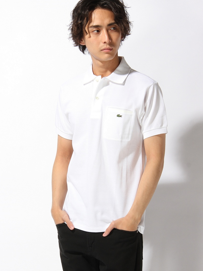 【SALE/20%OFF】LACOSTE クラシックフィット 胸ポケットポロシャツ(半袖) ラコステ カットソー【RBA_S】【RBA_E】【送料無料】