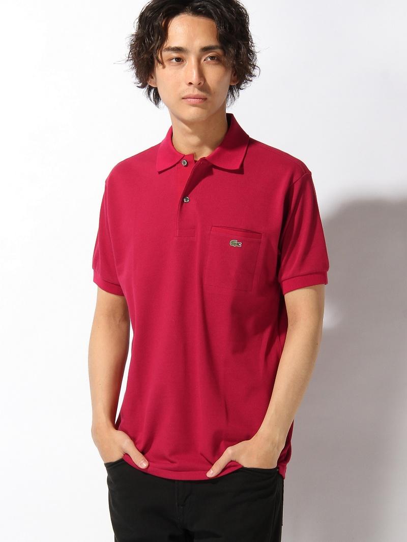 【SALE/20%OFF】LACOSTE 胸ポケット ポロシャツ (半袖) ラコステ カットソー【RBA_S】【RBA_E】【送料無料】